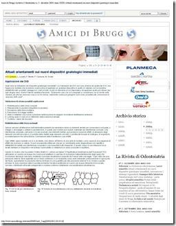 Amici di Brugg _ Archivio _ Odontoiatria _ n. 3 - dicembre 2004. Anno XXIII _Page_1