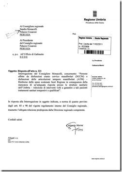 risposta interrogazione 2011_Page_1